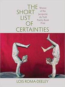 Short List Of Certainties, Cover copy