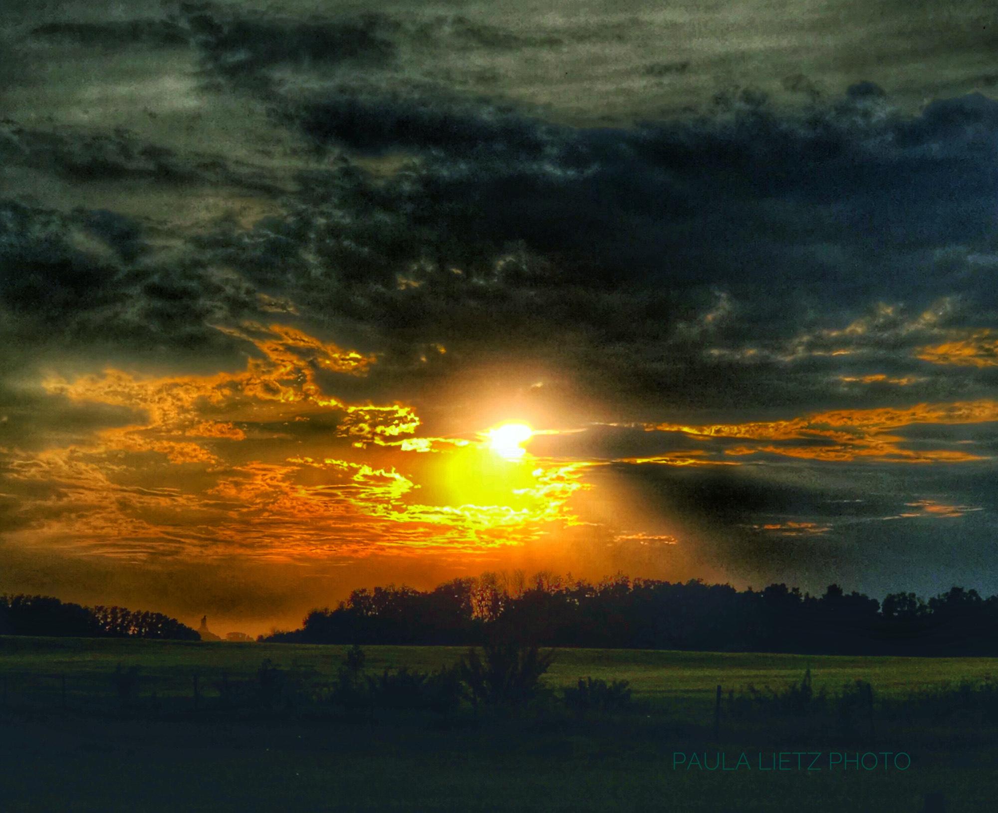 Paula Lietz meadow w sunset BHR 13