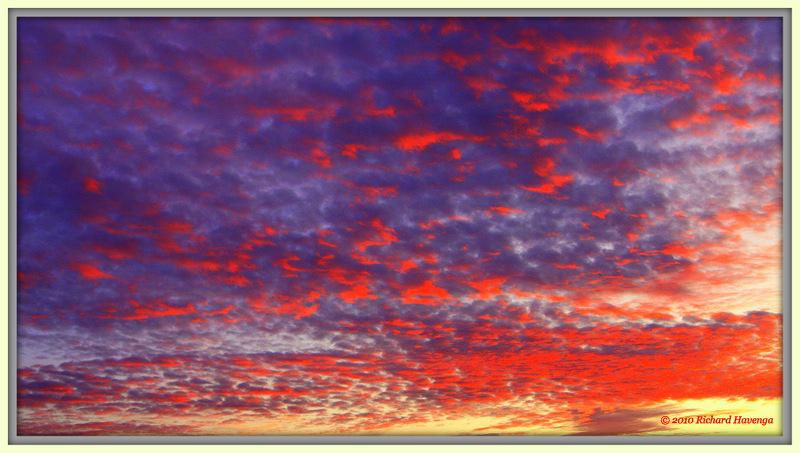 Sky on Fire photo Richard Havenga